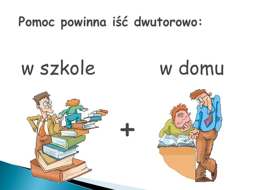 w szkole w domu +