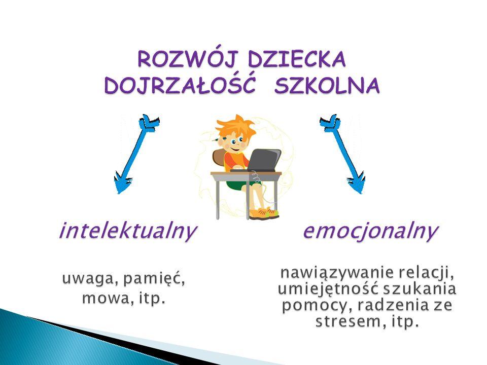 DOJRZAŁOŚĆ SZKOLNA Różnice rozwoju psychosomatycznego dzieci 5, 6, 7 – letnich.