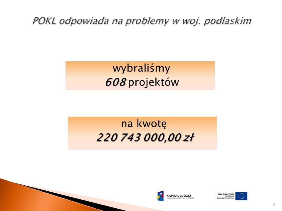 3 na kwotę 220 743 000,00 zł wybraliśmy 608 608 projektów