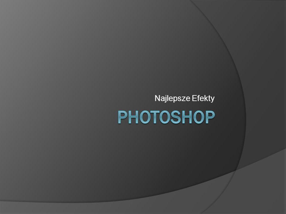 Adobe Photoshop Rozbudowany program graficzny przeznaczony do grafiki rastrowej.