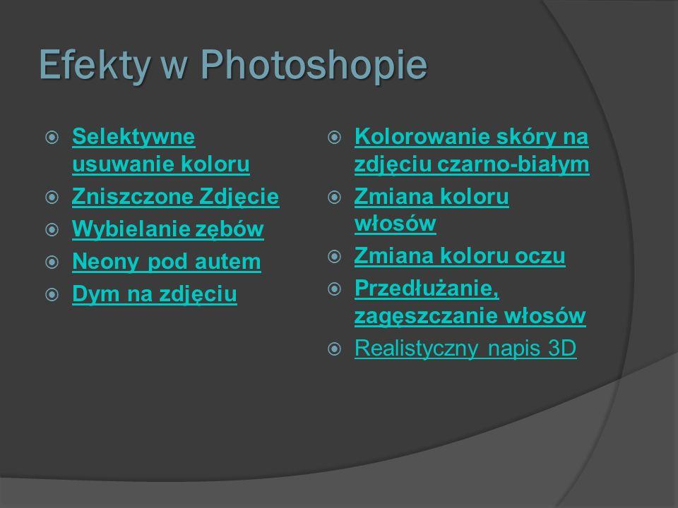 Selektywne usuwanie koloru Otwieramy nasz obrazek w Photoshopie: Teraz wybieramy z menu narzędzi tryb szybkiej maski: Teraz z menu narzędzi wybieramy pędzel i dokonujemy takiego zamalowania (zaznaczenia) Następnie znowu naciskamy klawisz Q Powinniśmy otrzymać zaznaczenie: Możemy usunąć teraz kolor otoczenia.