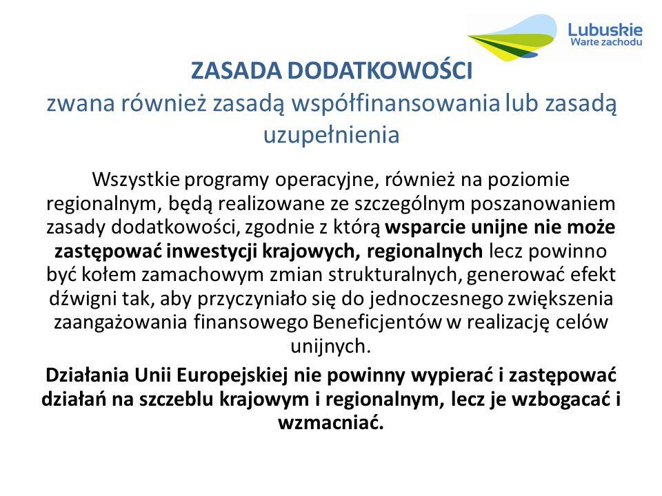 Wstępny podział alokacji w RPO – Lubuskie 2020 L.p.Oś Priorytetowa Alokacja z 16.04.2013 r.