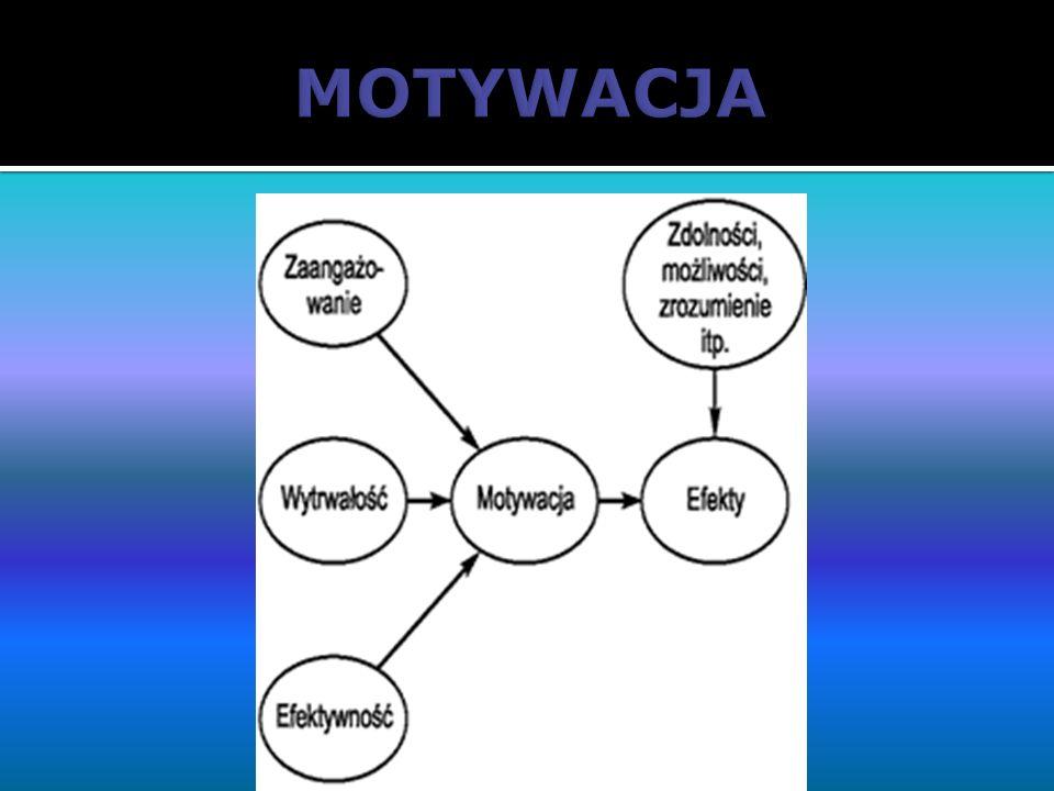 Rodzaje motywacji: Motywacja wewnętrzna to motywacja powodująca zachowanie, którego celem nie jest osiągnięcie zewnętrznych nagród, dana aktywność jest celem samym w sobie.