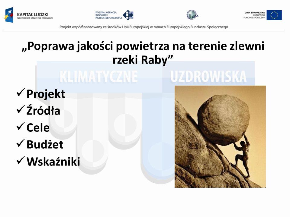 Poprawa jakości powietrza na terenie zlewni rzeki Raby Gmina Biskupice Gmina Drwinia Gmina Łapanów Gmina Szczurowa Gmina Trzciana