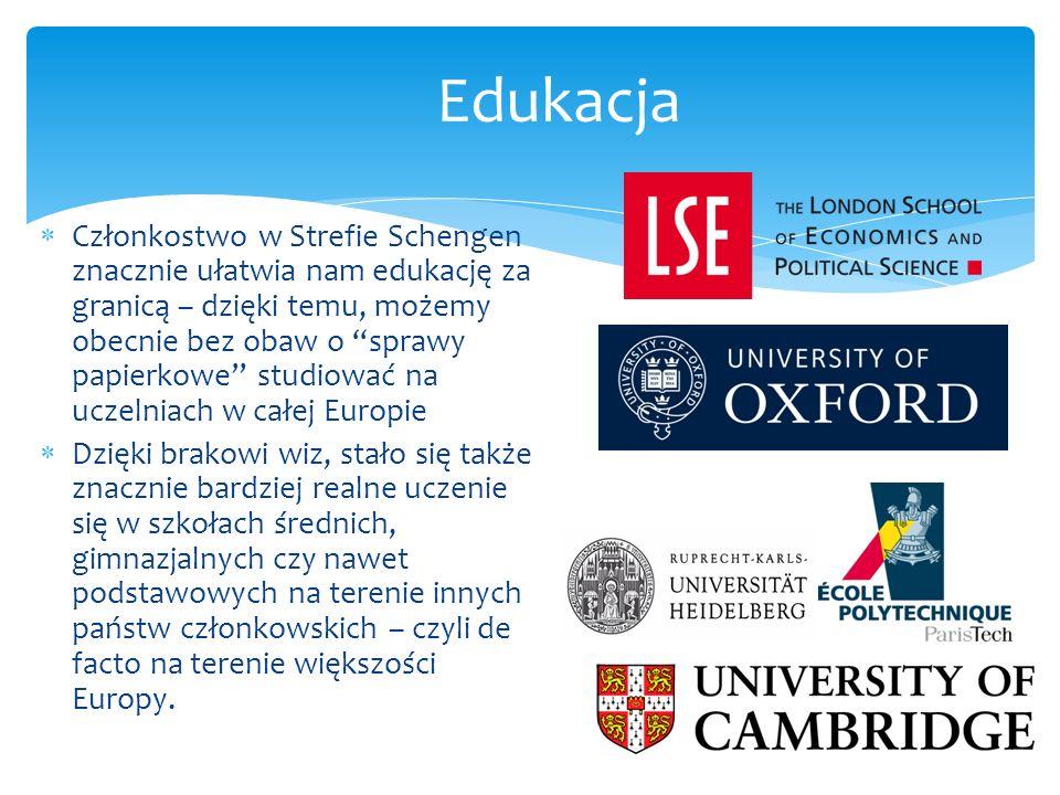 Od kiedy Polska stała się członkiem strefy Schengen, znacznie bardziej realne stało się uczenie w szkołach średnich w innych krajach UE.