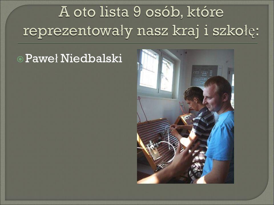 Pawe ł Niedbalski