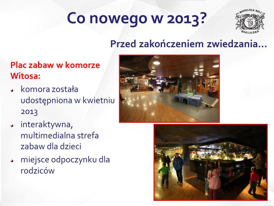 Odświeżona Komora Budryka Wyrównanie spągu i wymiana podłogi Nowa instalacja elektryczna oraz oświetlenie Demontaż elementów wystroju Co nowego w 2013.