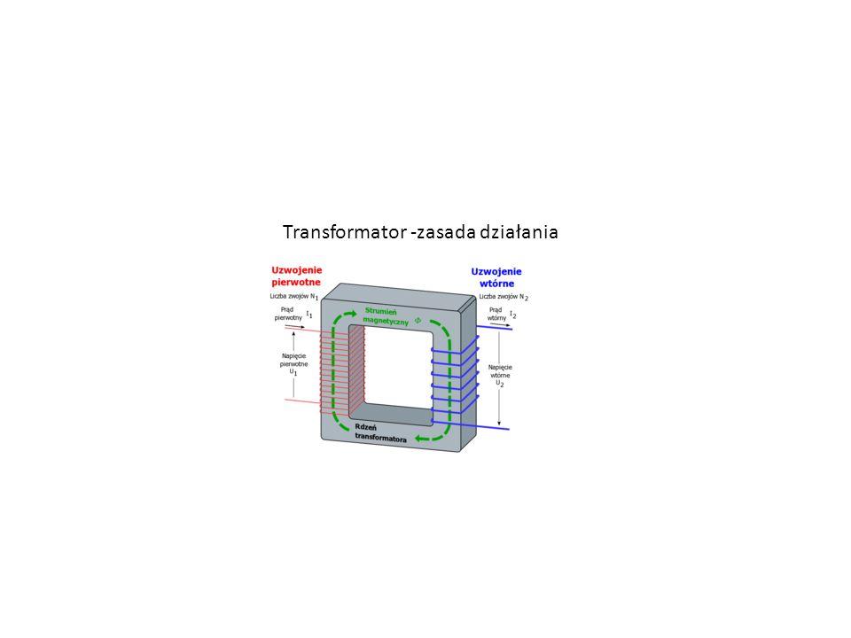 Transformator -zasada działania