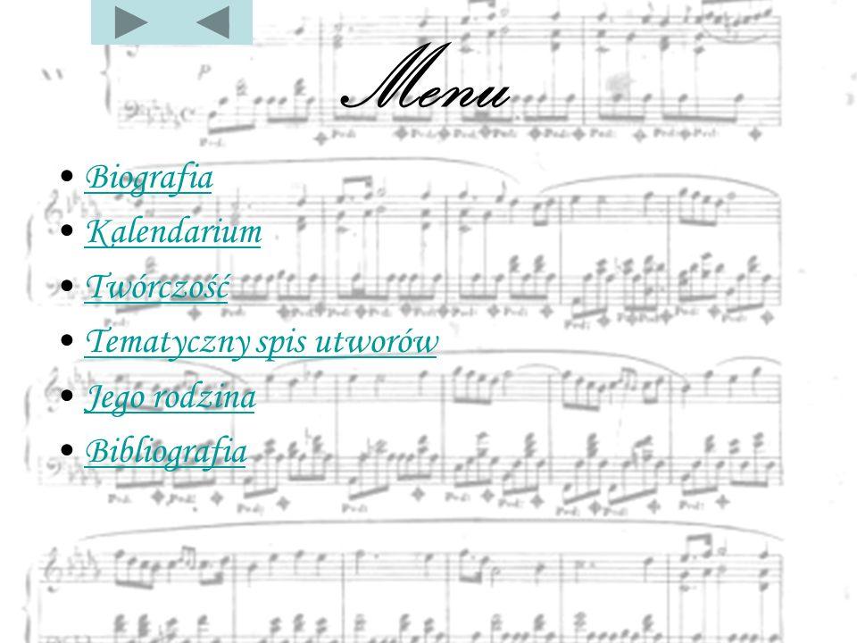 Biografia Fryderyk Franciszek CHOPIN, najwybitniejszy polski kompozytor, urodził się w 1810 roku w Żelazowej Woli (ok.