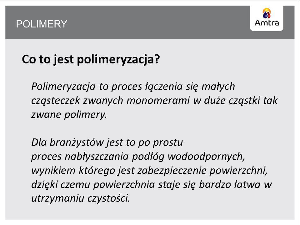Co to jest polimeryzacja.