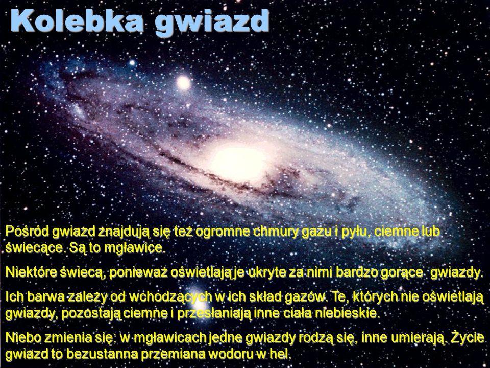 Kosmiczni wędrowcy Niektóre ciała niebieskie niespodziewanie pojawiają się na niebie i równie nagle znikają. Są to komety i meteoroidy. Kometa jest kr