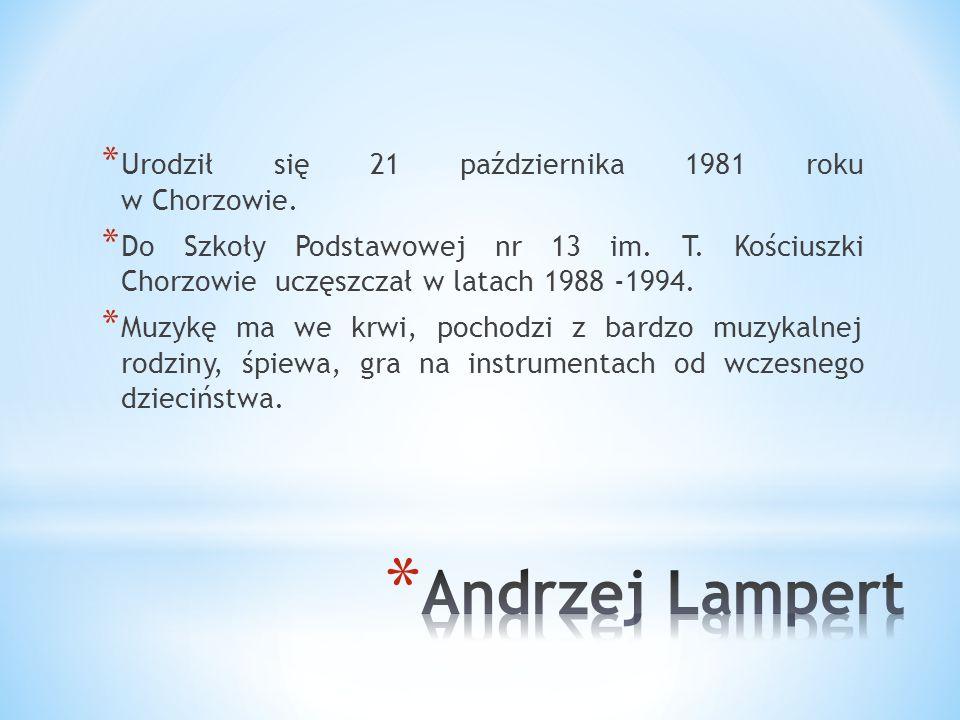 * Andrzej * Lampert
