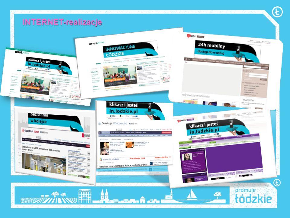 INTERNET-rezulaty cd.Kampania mailingowa została przeprowadzona w dwóch fazach.