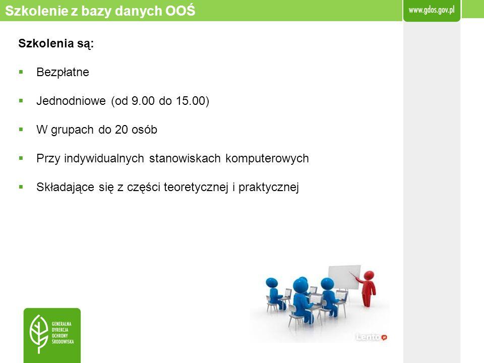 Szkolenia są: Bezpłatne Jednodniowe (od 9.00 do 15.00) W grupach do 20 osób Przy indywidualnych stanowiskach komputerowych Składające się z części teo