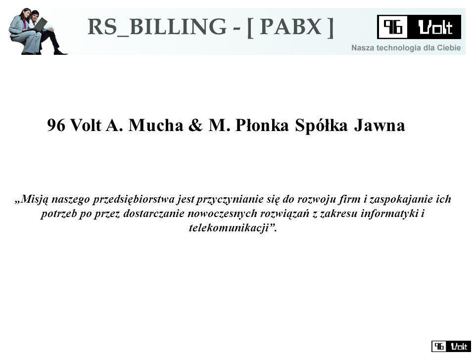 96 Volt A. Mucha & M.