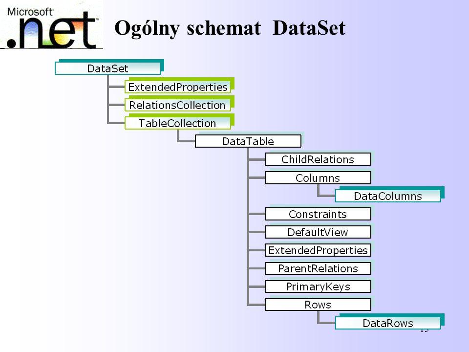13 Ogólny schemat DataSet