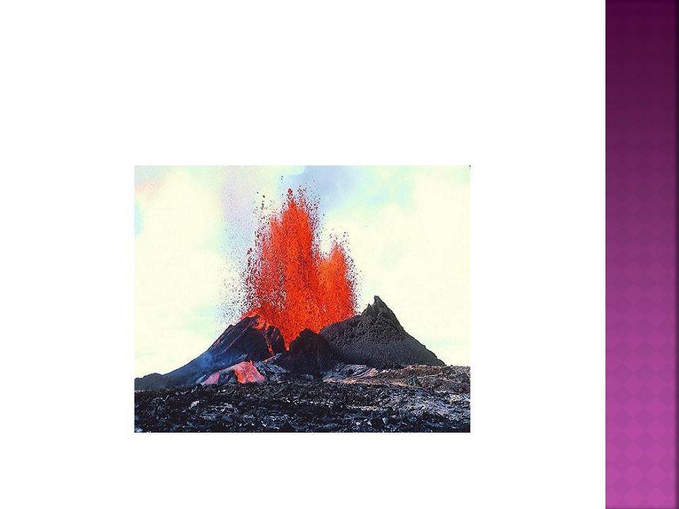 Wulkany to góry ziemi często pokryte lodowcami.W środku wulkanu znajduje się MAGMA.