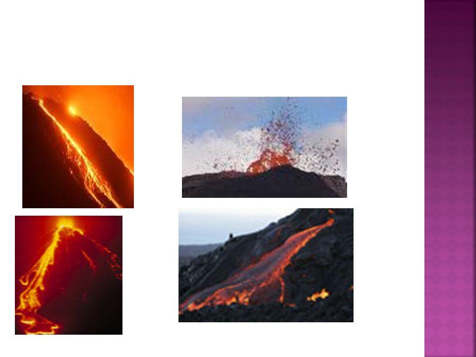 Na ziemi można spotkać określone typy wulkanów.Są nimi: 1.