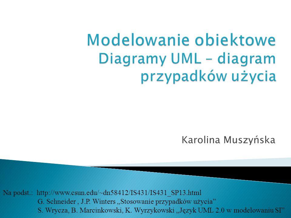 Karolina Muszyńska Na podst.: http://www.csun.edu/~dn58412/IS431/IS431_SP13.html G.