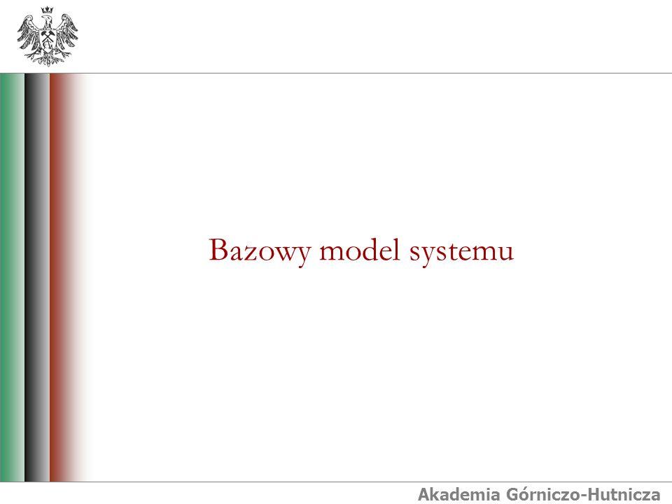 Akademia Górniczo-Hutnicza Bazowy model systemu