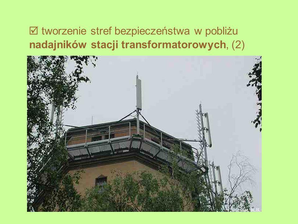 tworzenie stref bezpieczeństwa w pobliżu nadajników stacji transformatorowych, (2)