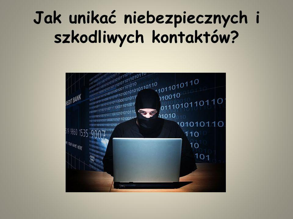 Jak chronić swoje dane osobowe? Czatując – NIE PODAWAJ NIKOMU SWOJEGO IMIENIA, NAZWISKA,ADRESU CZY NUMERU TELEFONU. Zamiast imienia i nazwiska – UŻYWA
