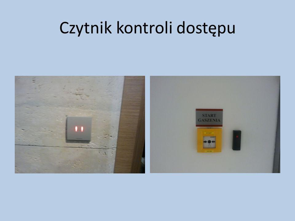Czytnik kontroli dostępu