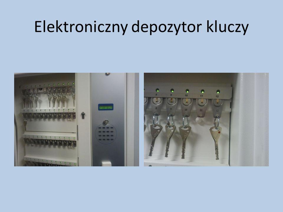 Elektroniczny depozytor kluczy