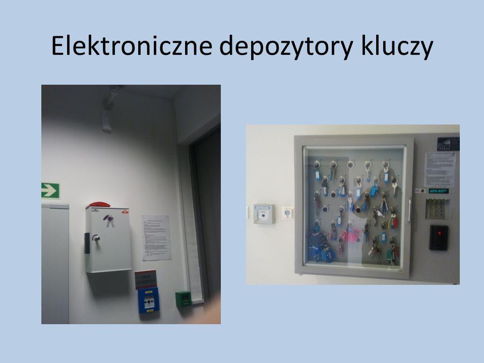 Elektroniczne depozytory kluczy