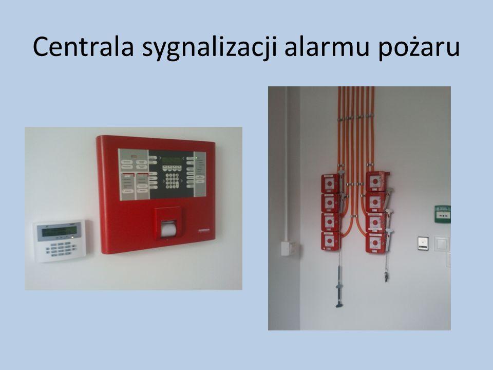 Centrala sygnalizacji alarmu pożaru