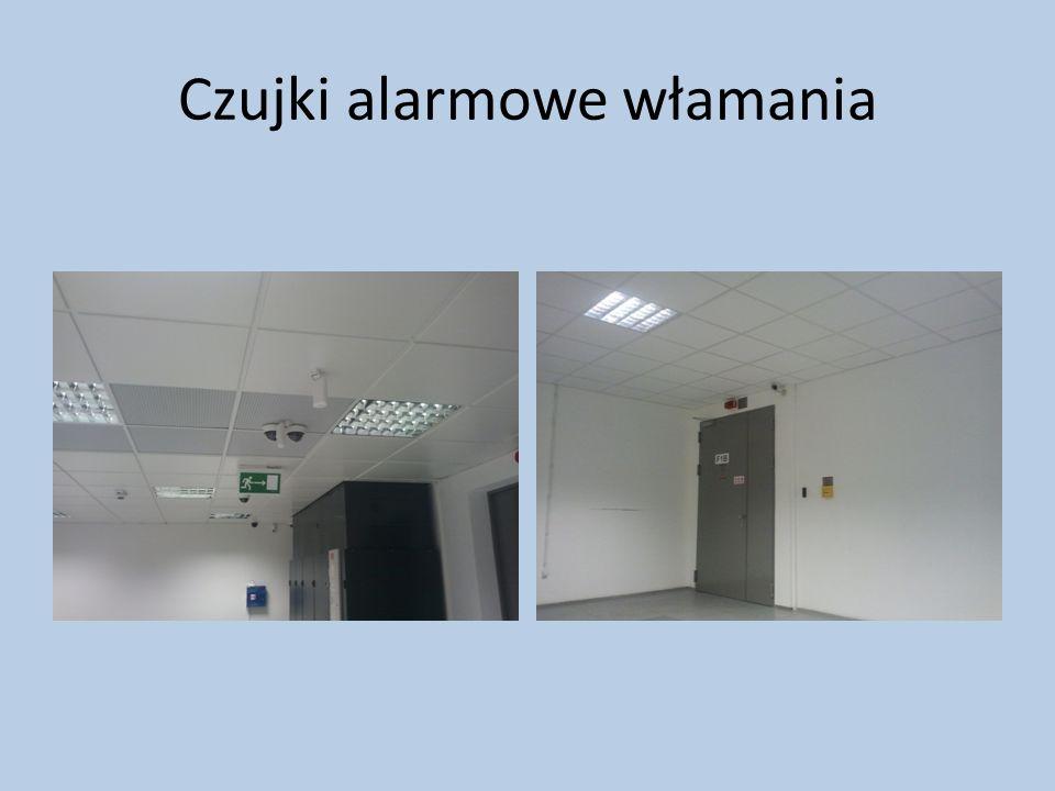 Czujki alarmowe włamania i napadu