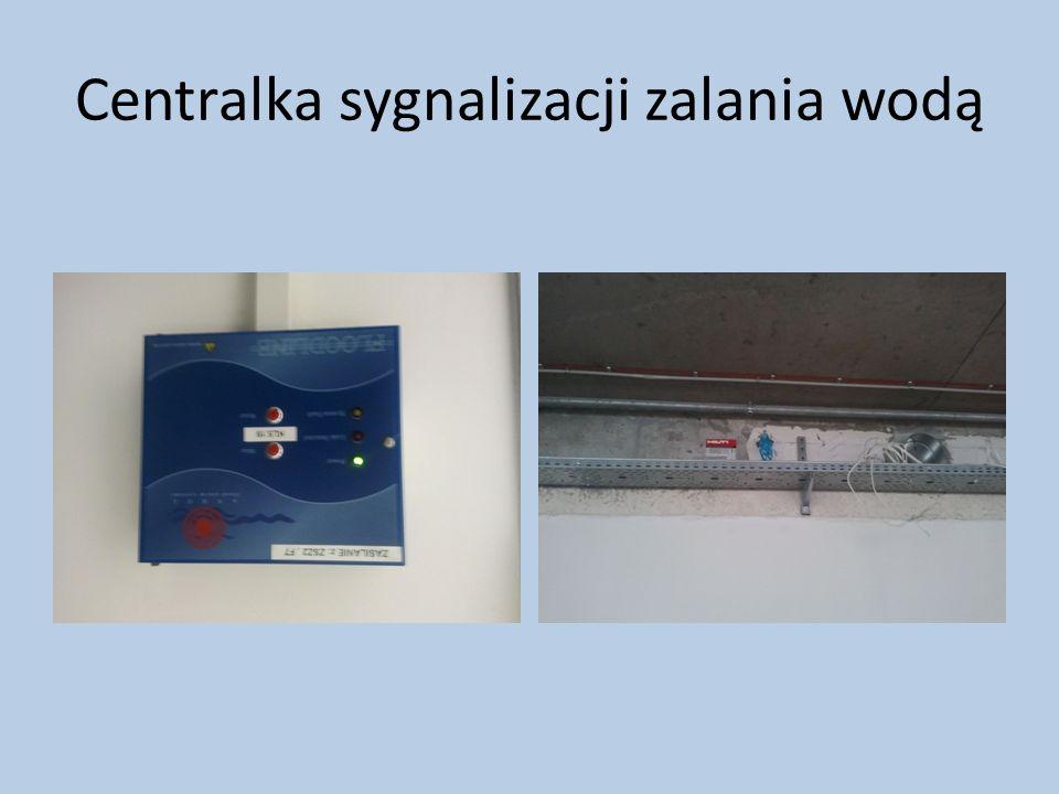 Centralka sygnalizacji zalania wodą