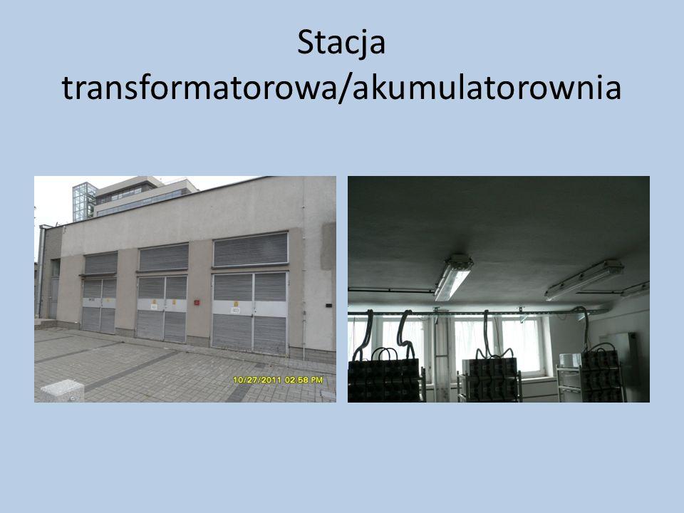 Stacja transformatorowa/akumulatorownia