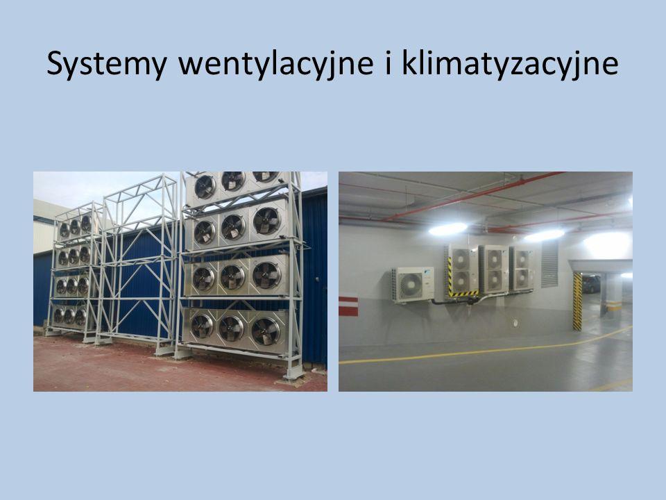Systemy wentylacyjne i klimatyzacyjne