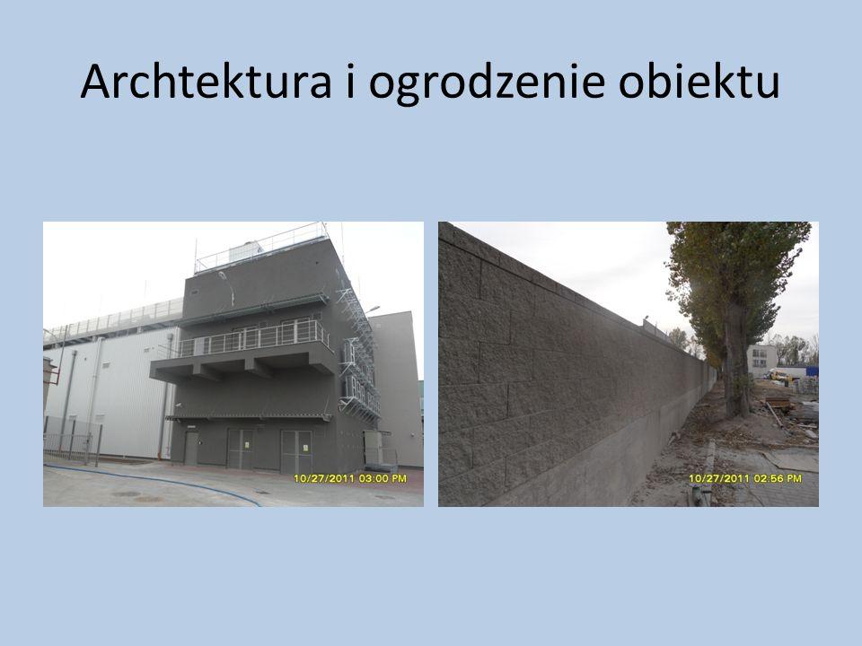 Archtektura i ogrodzenie obiektu