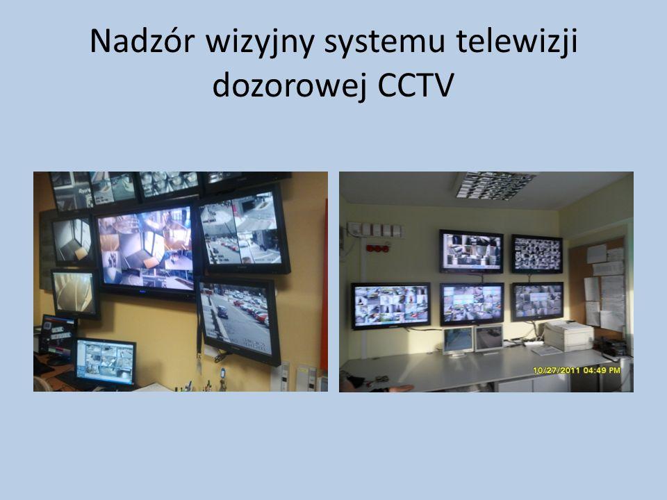 Nadzór wizyjny systemu telewizji dozorowej CCTV