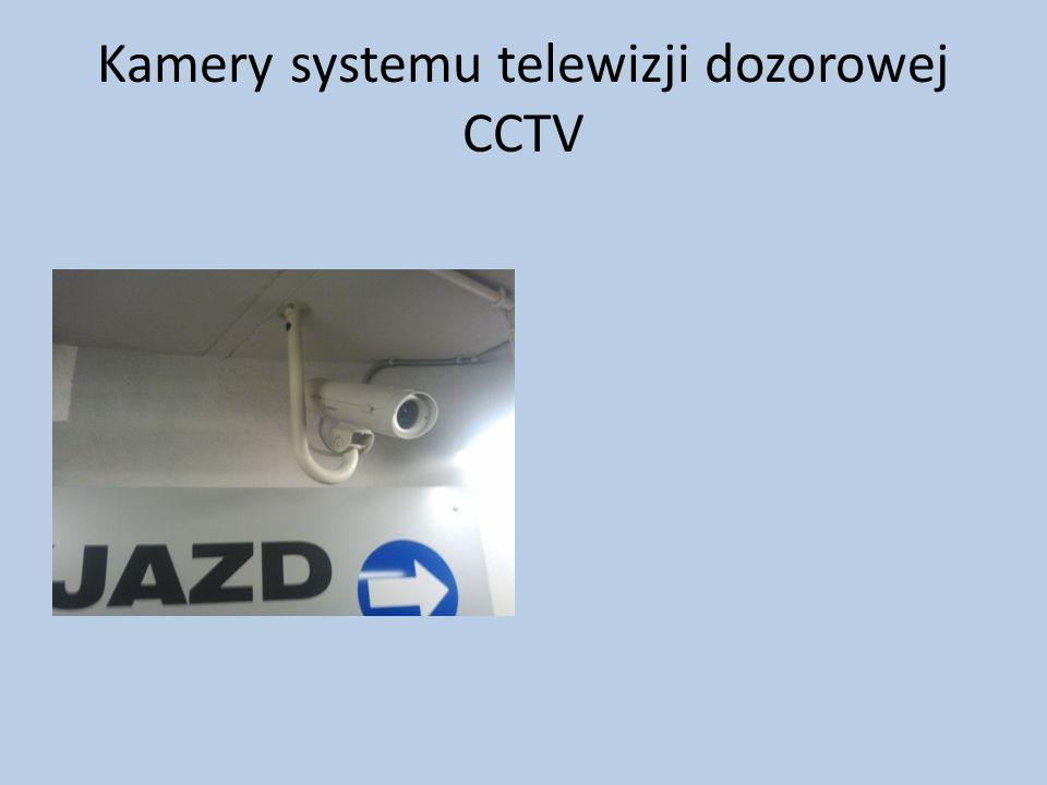 Kamery systemu telewizji dozorowej CCTV