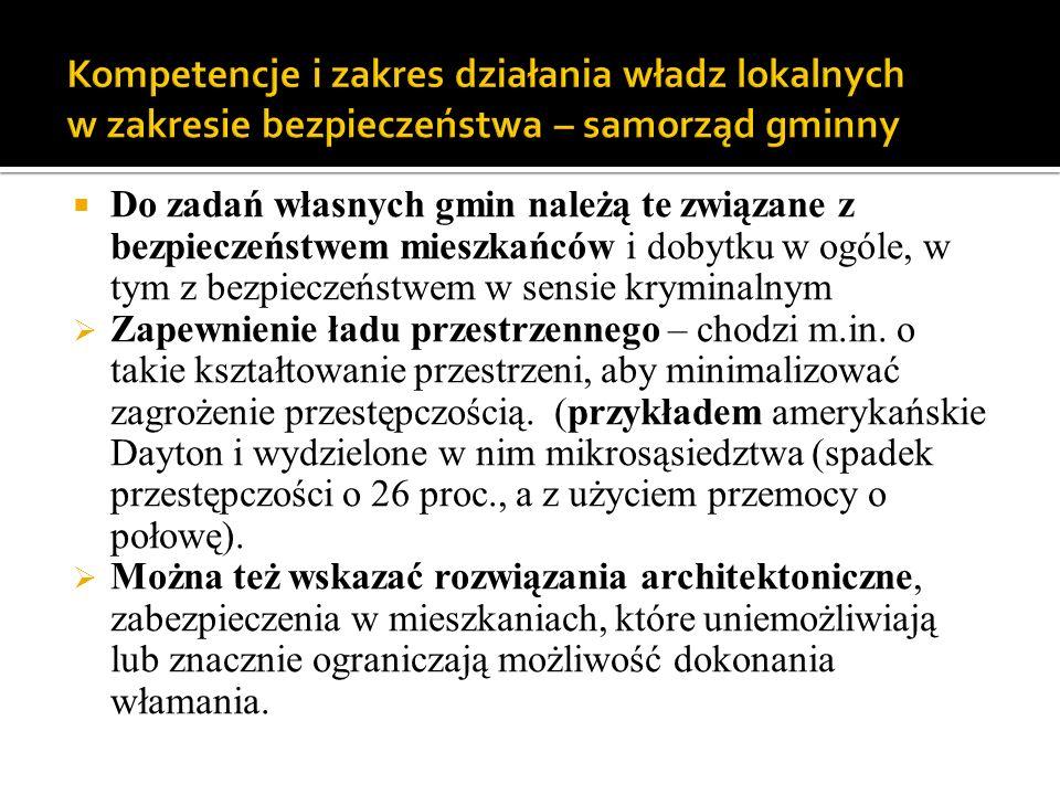 Zabezpieczenie lokalnego transportu zbiorowego: systemy monitoringu wewnątrz pojazdów ( przypadek motorniczego w Poznaniu – zapobiegł kradzieży), obecność konduktora (w dłuższym czasie kosztowniejsze niż monitoring, na krótką metę może być efektywniejsze).