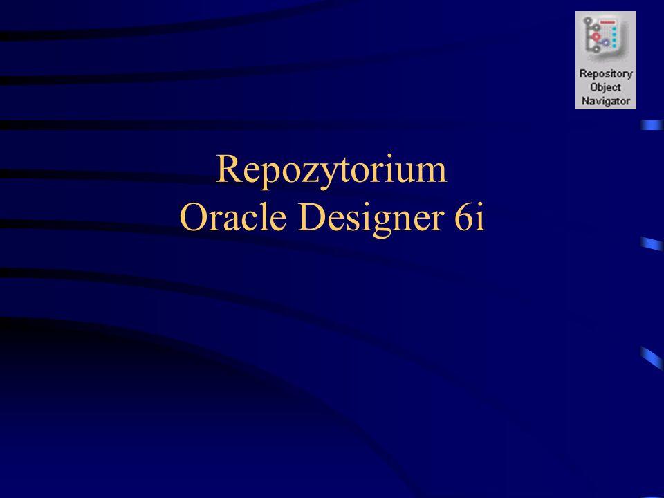 Repozytorium Oracle Designer 6i