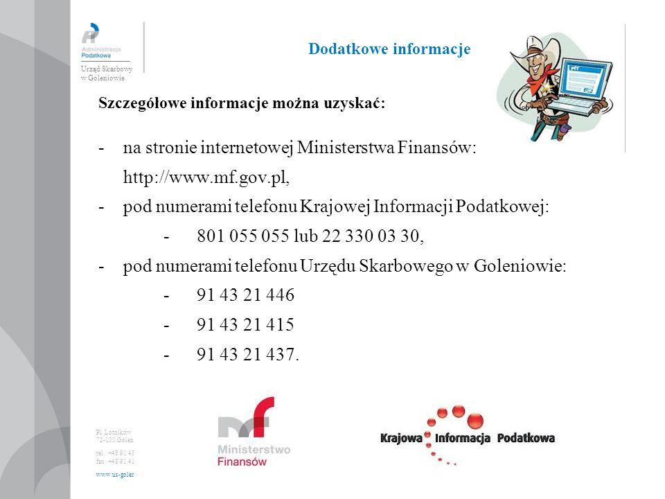 Urząd Skarbowy w Goleniowie Pl.