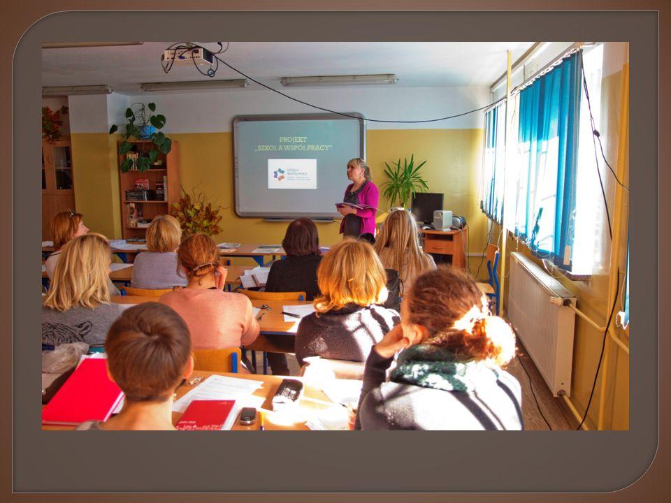 - integracja - wymiana doświadczeń - łatwość wykonywania działań - zaangażowanie uczniów w życie szkoły - brak sytuacji konfliktowych - umiejętność konstruktywnego rozwiązywania problemów - lepsze wyniki nauczania - zmiana postaw (dzięki współpracy z rodzicami) - poczucie uczniów, że są naprawdę ważni - widoczne zaangażowanie w pracę wychowawczą, pomoc uczniom
