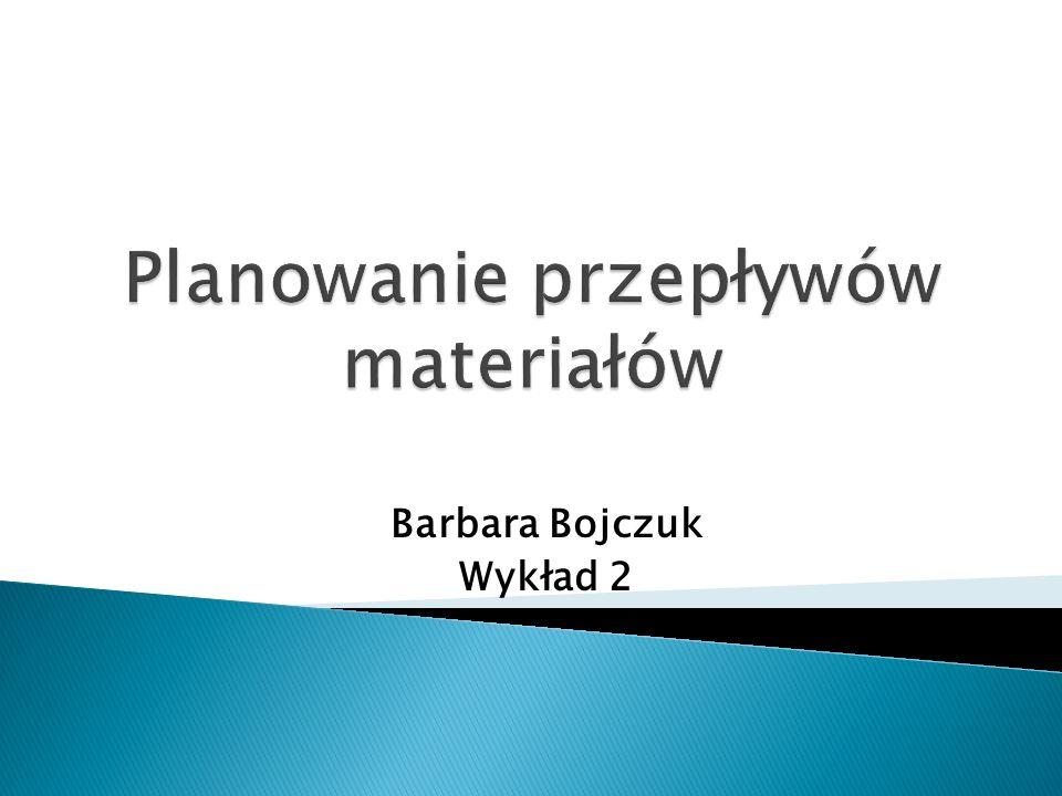 Barbara Bojczuk Wykład 2