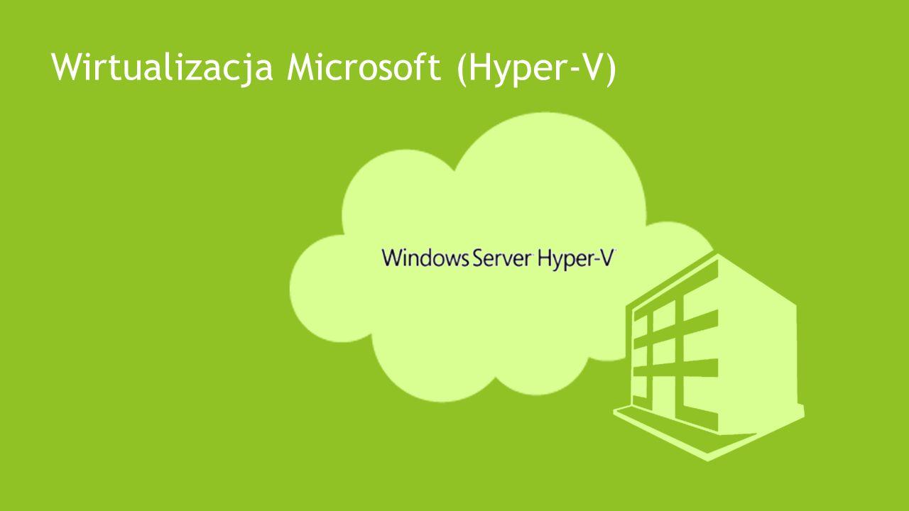 Wirtualizacja Microsoft (Hyper-V)