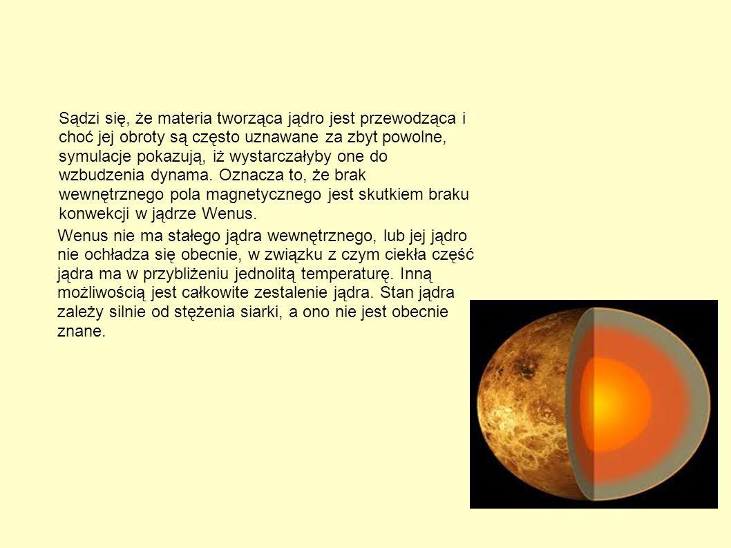 Sądzi się, że materia tworząca jądro jest przewodząca i choć jej obroty są często uznawane za zbyt powolne, symulacje pokazują, iż wystarczałyby one d