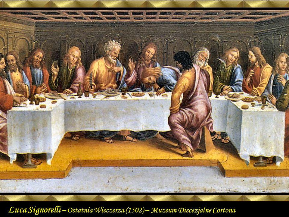 Leonardo da Vinci Ostatnia Wieczerza (1495 – 1498) fresk Santa Maria delle Grazie Mediolan Felújítás után