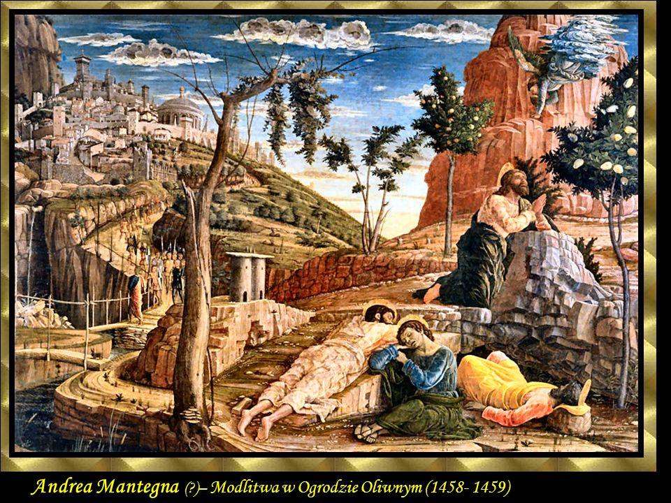GIOTTO Francesco – Mycie nóg starcom (1304 – 1306) fresk Cappella Scrovegni (Arena Chapel), Padua