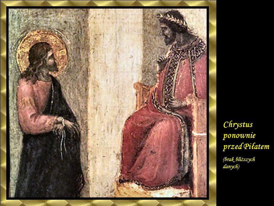 Chrystus przed Herodem ( brak bliższych danych)