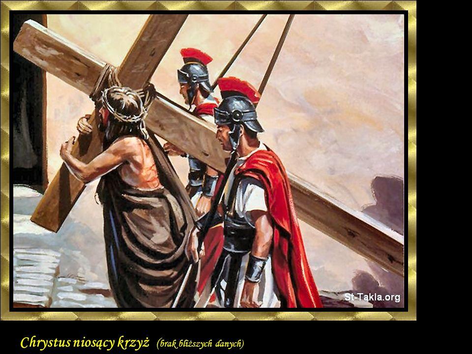 Chrystus niosący krzyż ( brak bliższych danych)