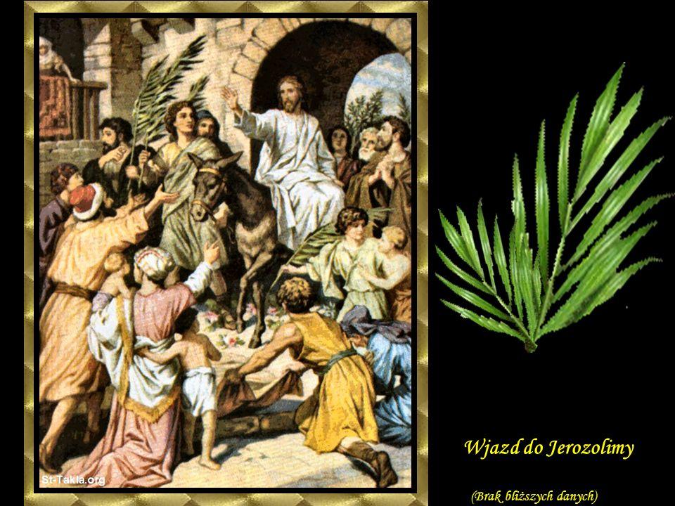 Wjazd do Jerozolimy (Brak bliższych danych)