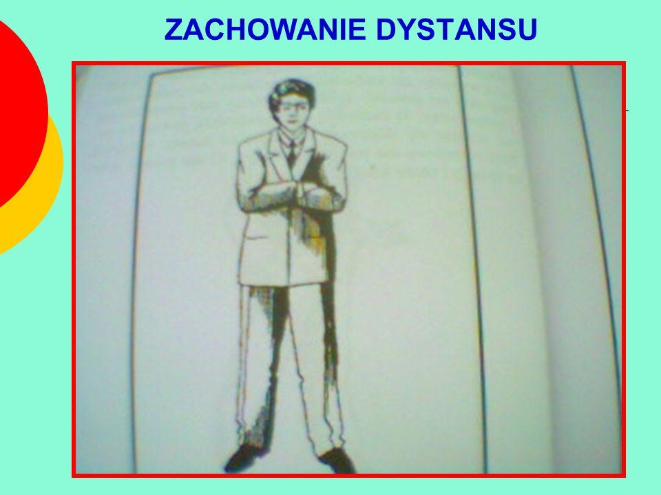 ZACHOWANIE DYSTANSU